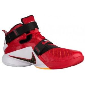 Nike Lebron Zoom Soldier 9 High Top Sneaker